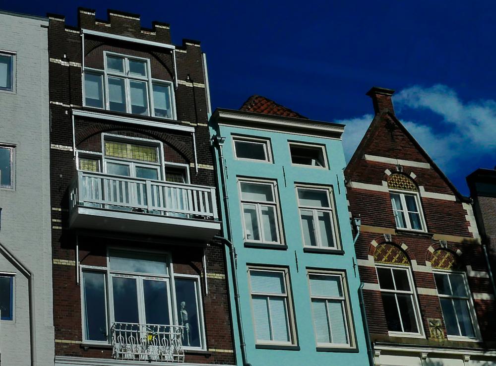 Utrecht, vom Boot aus gesehen (1)