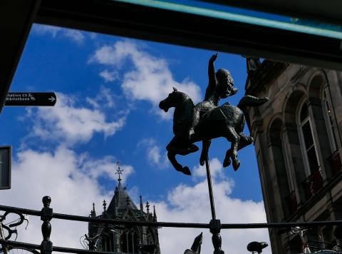 Utrecht, vom Boot aus gesehen 3)